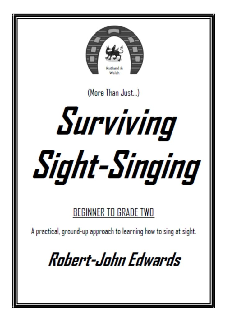 Surviving Sight-Singing Book Front Cover